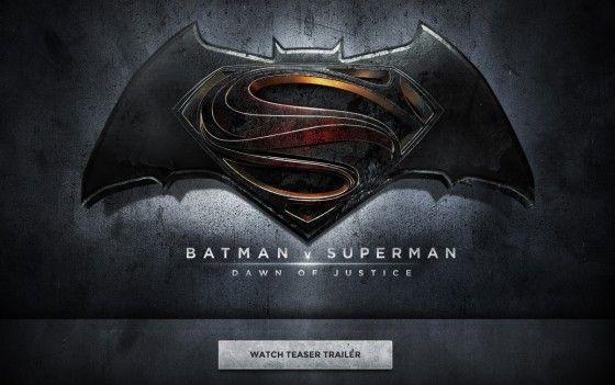 バットマン&スーパーマン初共演映画、予告編が緊急公開
