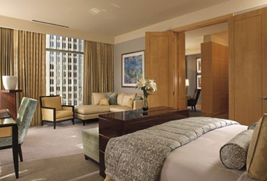 The Ritz-Carlton Suite at The Ritz-Carlton, Charlotte.