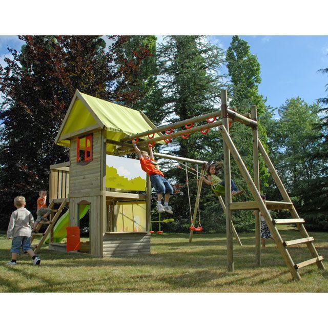 les 36 meilleures images propos de cabane sur pinterest bac sable maisons dans les arbres. Black Bedroom Furniture Sets. Home Design Ideas