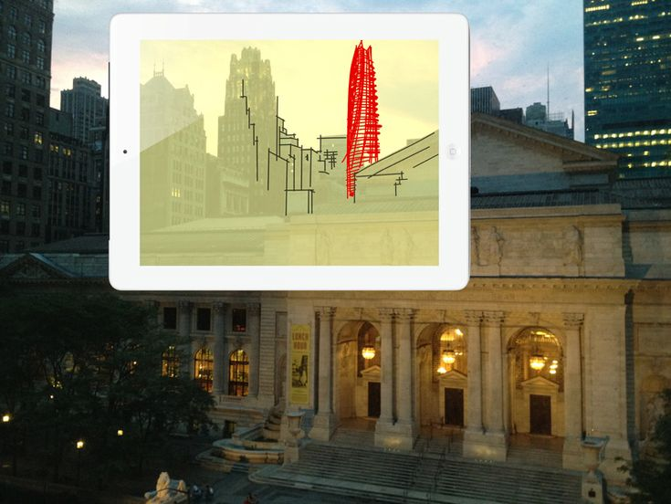 For you Designers out there. Looks interesting.  Trace app for architects by morpholio project