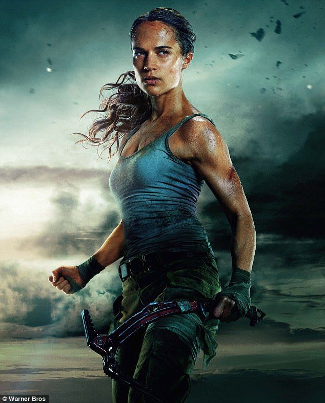 She's back!Formerly played by Angelina Jolie, Alicia Vikander has some pretty big shoes to fill as she embodies Lara Croft in Warner Brother's new film Tomb Raider