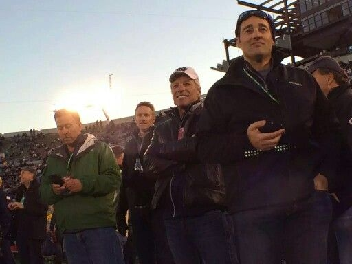 Jon today at Notre Dame game -  Oct 17th 2015  Notre Dame Football ❤