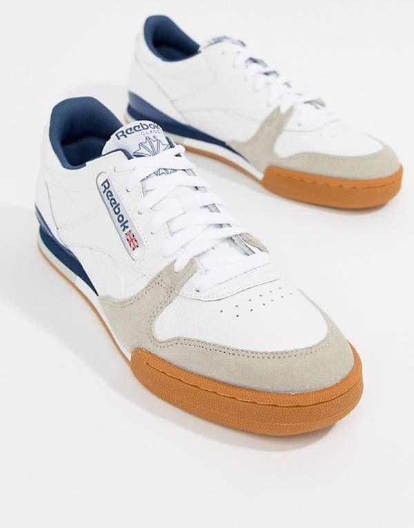 d74466c54b58e Reebok Phase 1 Pro CV Sneakers In White CM9286