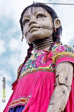 Marionetas Gigantes Guadalajara, 2010.