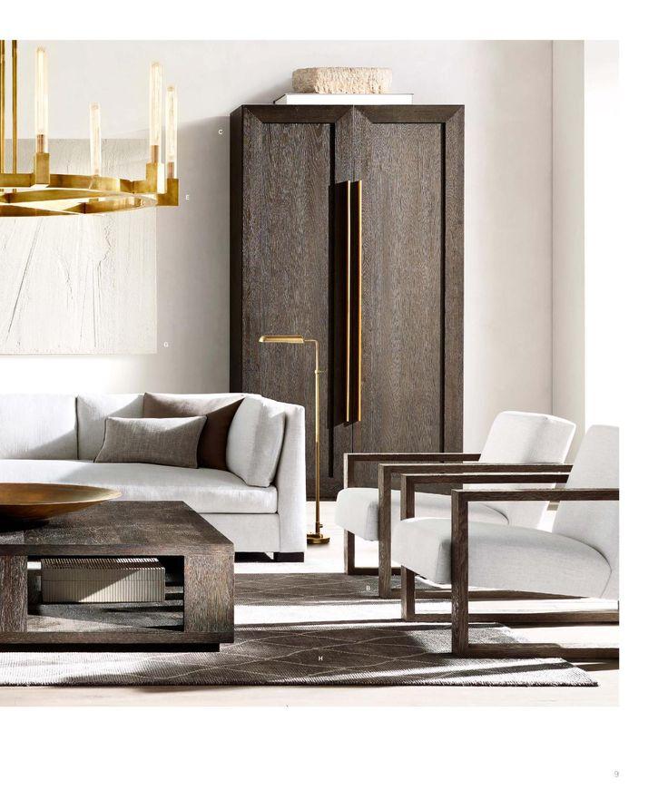 663 best restoration hardware images on pinterest family. Black Bedroom Furniture Sets. Home Design Ideas