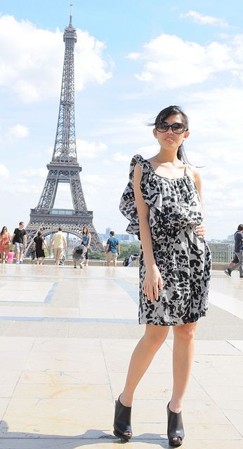 Oufit for Eiffel Tower visit | My Style | Pinterest | Summer wear Summer dresses and Paris