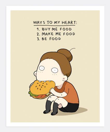 ways-to-my-heart #funny