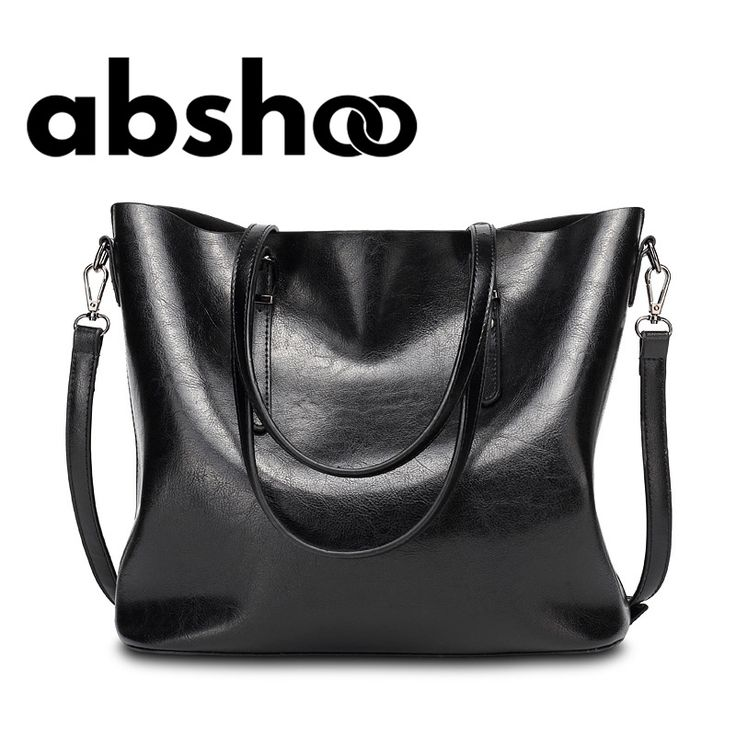 Women Shoulder Bags Large Capacity Handbags Waxy Pu Leather Big Tote Bag For Women Fashion Design Crossbody Bag Female Bolsas