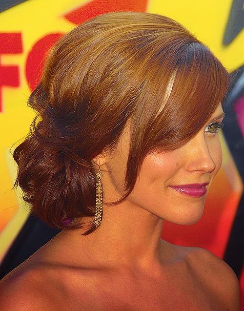 Sophia Bush's updo- Good Wedding hair do