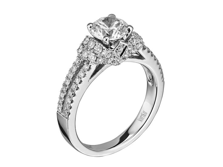 Collection: RadianceStyle #: M1613R310Description: Ladies 14k White Gold Split Shank Radiance Mounting with .62ctwDia Weight: 0.62ctAvailable Metal: 14kt, 18kt, Platinum, PalladiumRing Size: Pricing based on stock size 4-9Setting: Classic Diamond