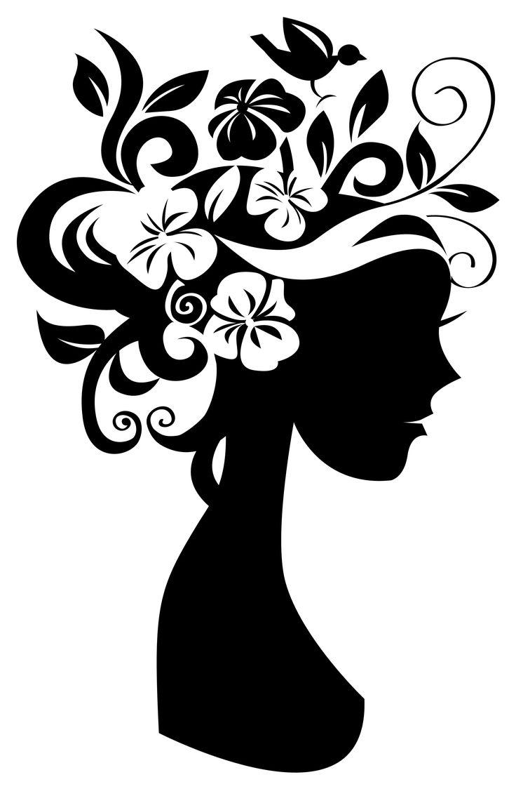 original silueta femenina