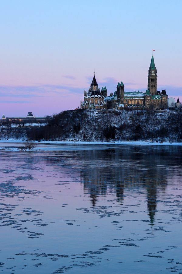 Ottawa - Ontario - Canada Parliament buildings on the hill