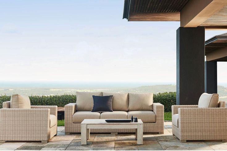 Verena 4 Piece Outdoor Lounge Setting, harvey norman $4799