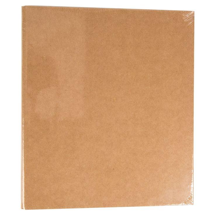 Bethany Mota Paper Binder - Kraft, Light Brown