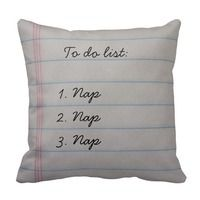 to do list funny throw pillow for teen girls  #giftguide #gifting #teengifts #uniquegifts