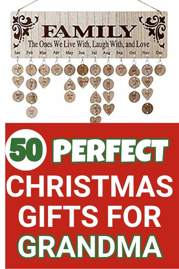 What To Get Grandma For Christmas 25 Best Christmas Gift Ideas 2019 Christmas Gifts For Grandma Grandma Gifts Best Christmas Gifts