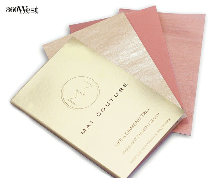 From blotting papers to blush application mai couture