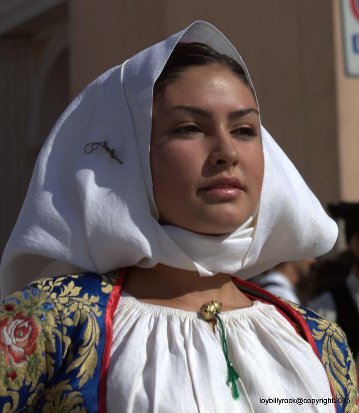 Costume di Meana Primo piano, Sardegna.