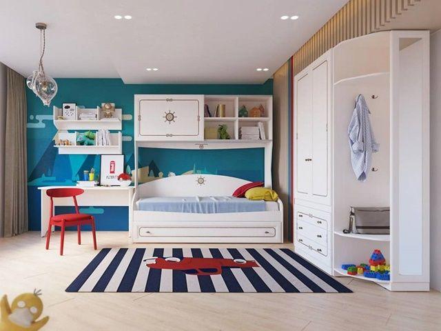 desain kamar tidur anak minimalis 2