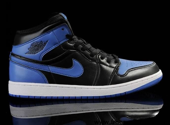 Nike Air Jordan 1 Retro High OG Mens Shoes Black / Royal Blue All kinds of  Cheap Nike Shoes are provided in Nike store with superior quality and super  ...