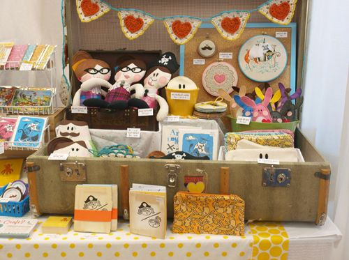 lovely craft show display