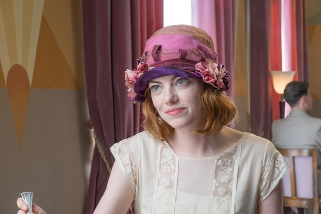 Emma Stone's 1920s Cote d'Azur fashions in Magic in the Moonlight