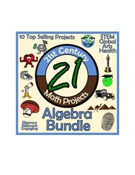 21st Century Algebra Project Bundle -- Common Core Aligned!