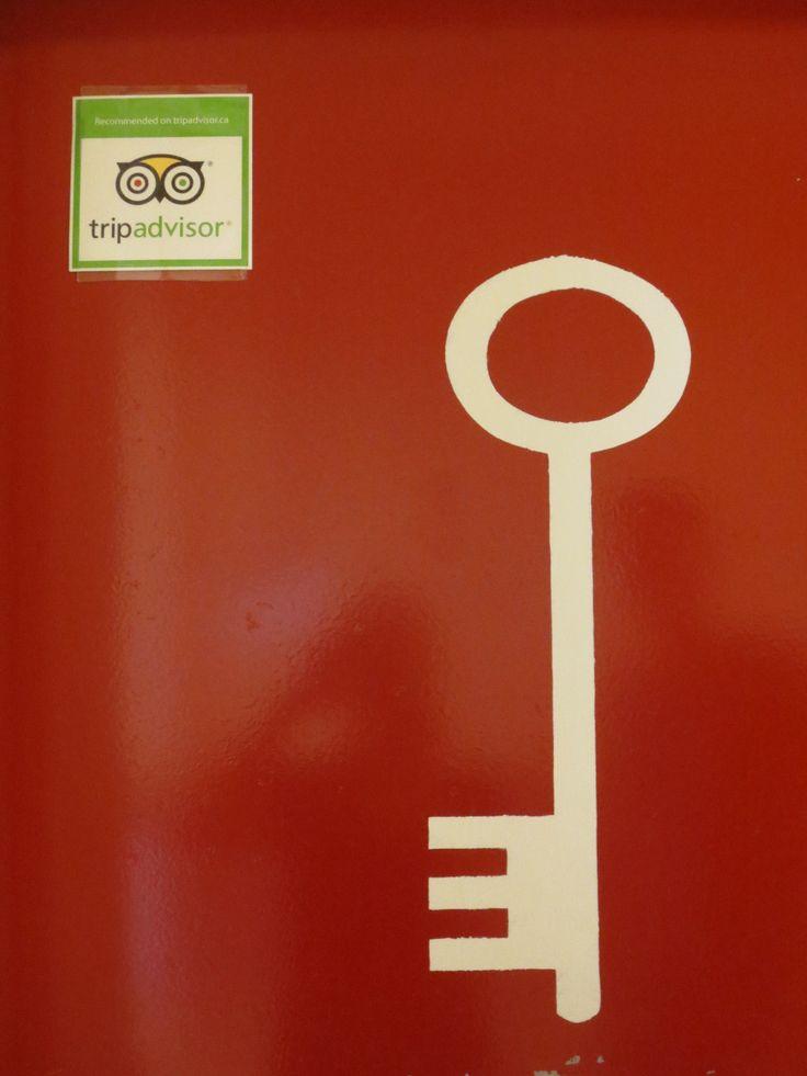 What's behind the big red door? #adventure #roomescape #canyouescape #tripadvisor #number1 #adventurerooms