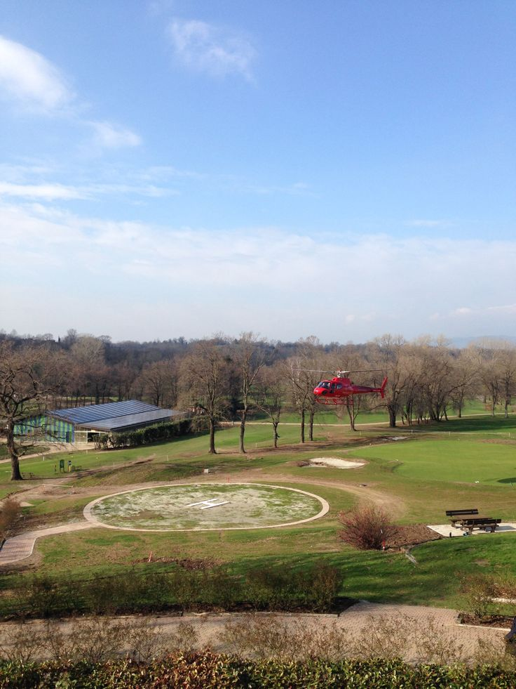 Helicopter at Golf Club Udine, Fagagna - Italy