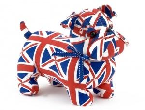 Фиксатор для двери «Английский бульдог Нобль» - 1900р.  Невозмутимый, консервативный, флегматичный и респектабельный бульдог по имени Нобль – один из дог-представителей Великобритании.
