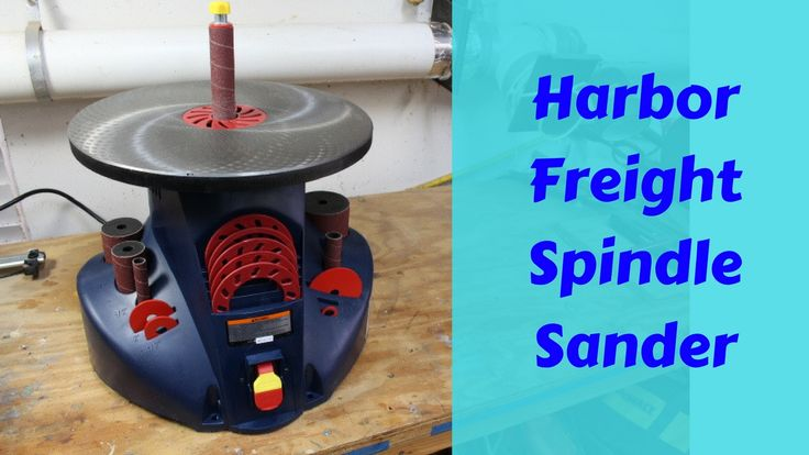 DIY Woodworking Ideas This video is an overview on the Harbor Freight Oscillating Spindle Sander. I&#3...