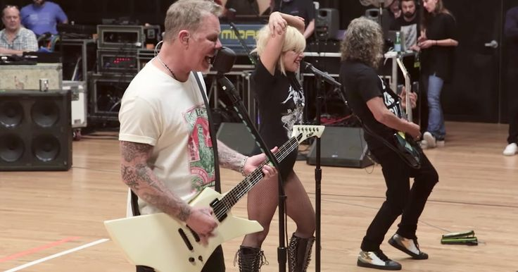 "Metallica have unveiled more rehearsal footage from the band's Grammy performance of ""Moth Into Flame"" with Lady Gaga."