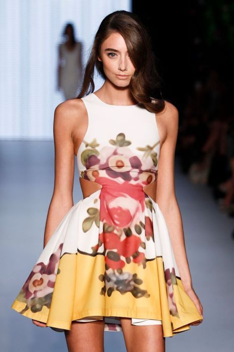 Alice McCall - Royal Doulton Cut Out Dress