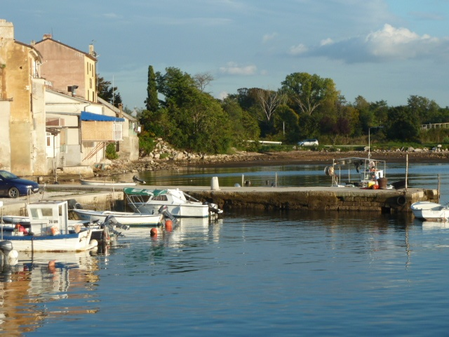 The marina at Savudrija
