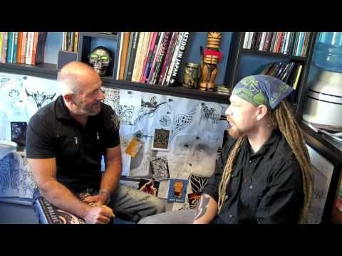 Blue Contemporary Artist: Paul Ecke Conversations with Tattoo Artist Rory Keating.mov