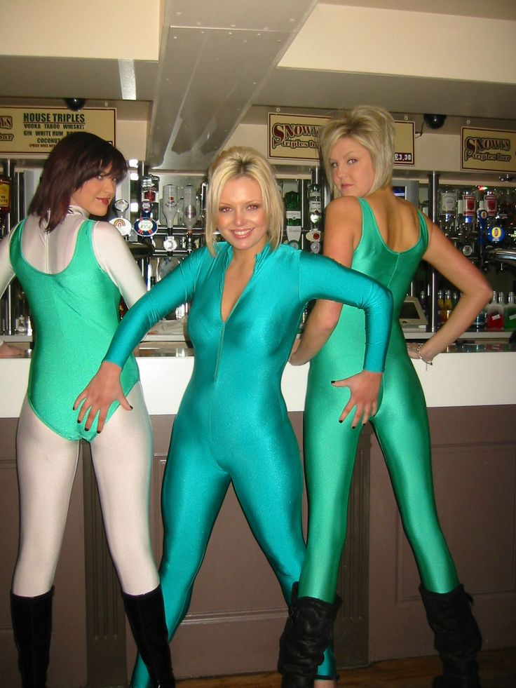 Sexy Babes in Lycra and Boots