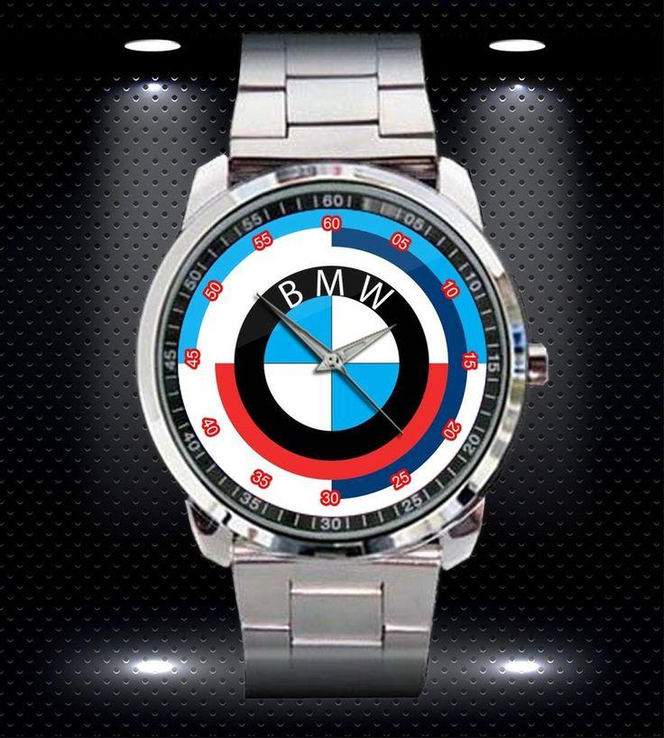 BMW Classic Hochwertige Sport-Metalluhr