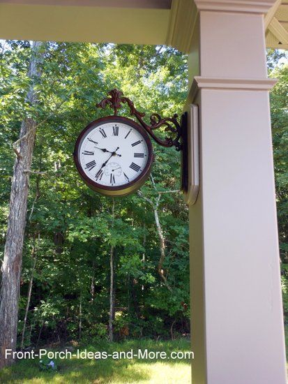 1000 ideas about outdoor clock on pinterest outdoor
