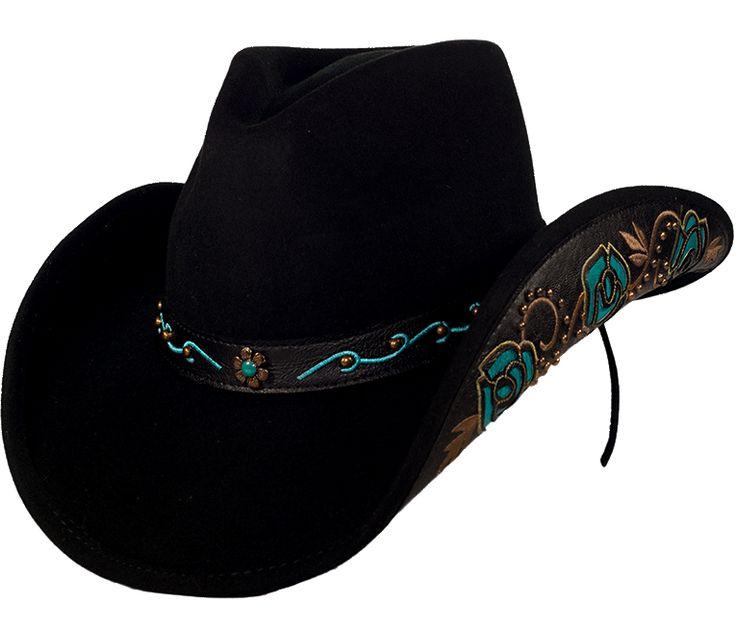Cowboy Hats   Wool & Felt   Simple Beauty Felt Cowboy Hat   Diamond Diva…