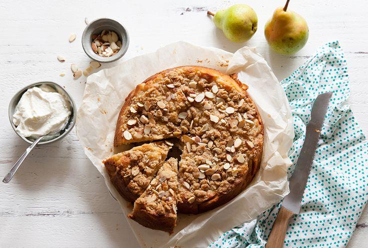 Pear Kuchen Cake