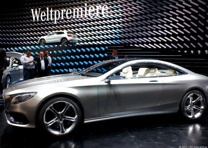 Mercedes-Benz takes two doors off the S-Class