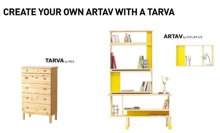 Ikea Hack - Tarva diventa Artav