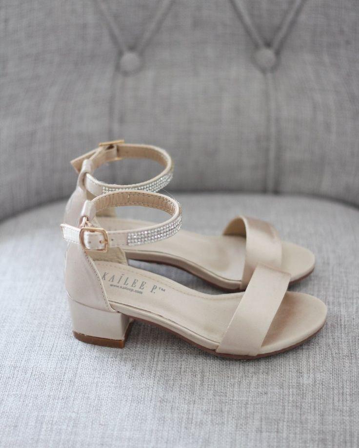 Champagne Satin Blockabsatz Sandalen Blockabsatz Schuhe Sandalen Mit Blockabsatz Schuhe Hochzeit