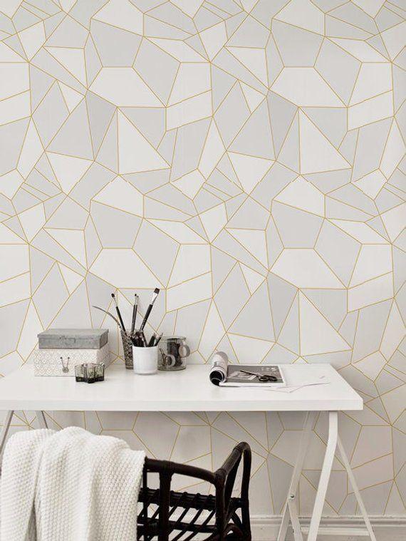 Light Triangles Removable Wallpaper Light Grey Wall Mural Reusable Wallpaper Self Adhesive Peel Stick Wallpaper 32 Light Grey Walls Removable Wallpaper Grey Walls