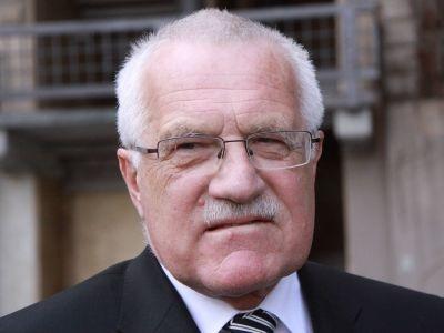 Czech president Vaclav Klaus.