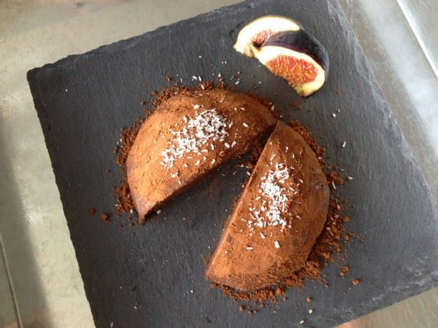 Chocolade fudge taart