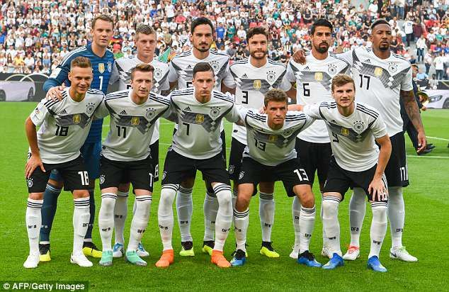 Germany Named A Strong Starting Xi At The Bayarena In Leverkusen On Friday Evening Deutschland Fussball Dfb Team Fussball Nationalmannschaft