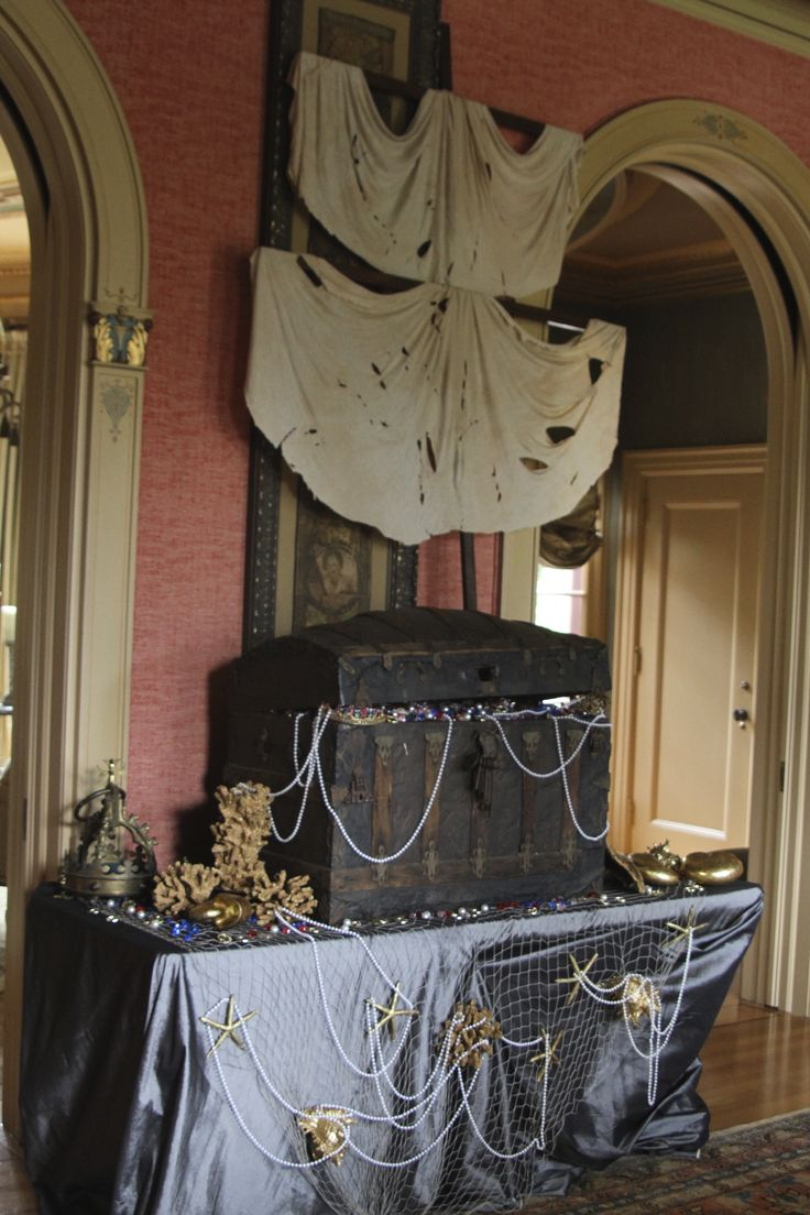 Halloween decorated houses inside - Nautical Pirate Decoration Pirate Party Decor Pirate