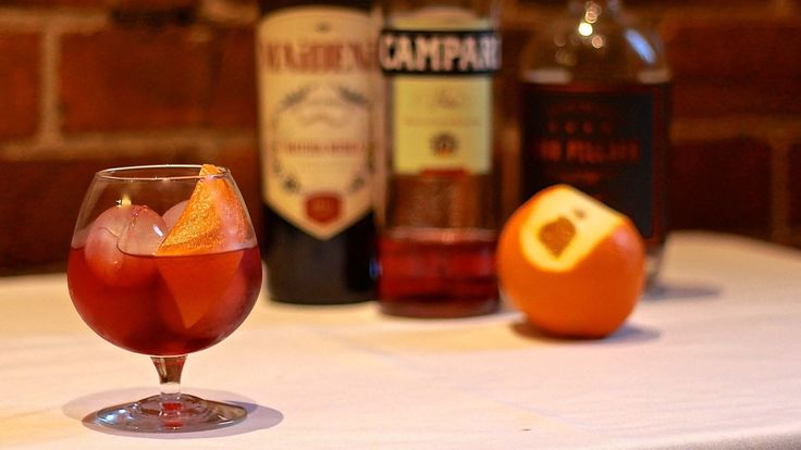 CLASSIC NEGRONI: Based on The Americano, the Negroni was invented in Florence, Italy at Caffè Casoni circa 1920. The now iconic cocktail was the inspiration of Count Camillo Negroni who asked his bartender to replace the soda in the three-ingredient cocktail with something stronger. Mixed with Campari, Gin and Sweet Vermouth. Recipe on the blog.