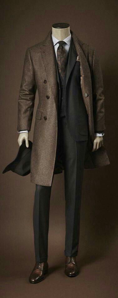 It's all about fit and right colors. Elegant copper tone gingham brown.